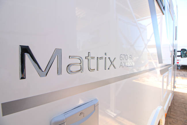 Adria Matrix Axess 670 SL full