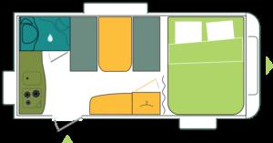Caravana nueva Sterckeman Starlett 420 CP