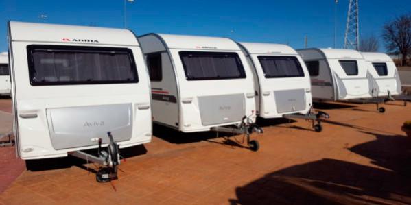 7229bebc095b Tipos de caravanas en Caravaning K2   Nuevas y de segunda mano