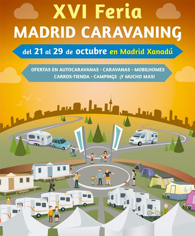 Feria caravanas y autocaravanas Madrid Xanadu