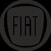 Logo Fiat negro