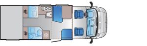 Autocaravana Sun Living S 70 SP
