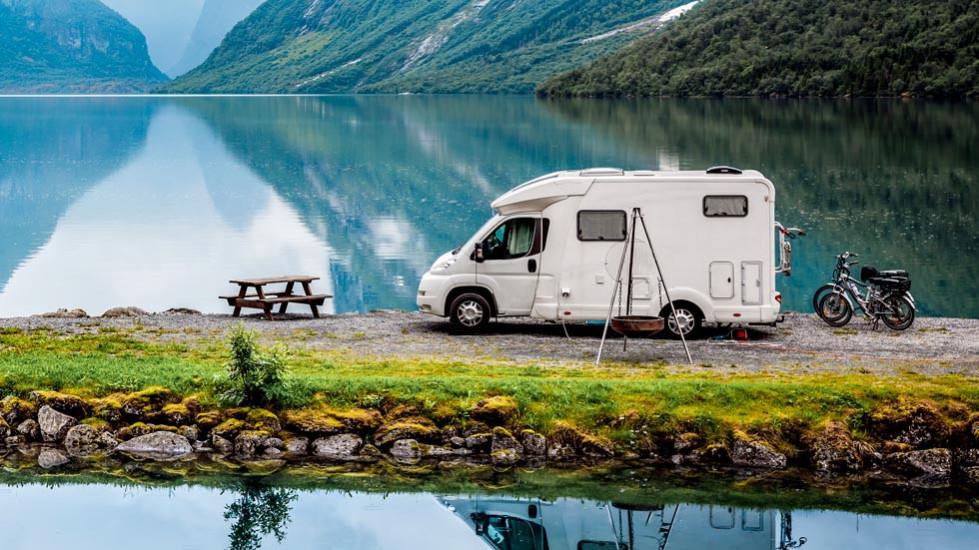 Acampar con autocaravana