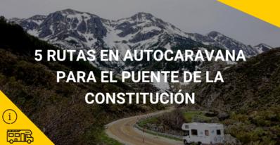 5 rutas para el puente de la Constitución