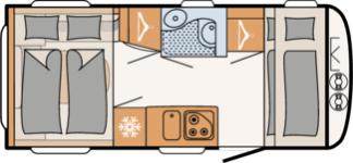 Dethleffs C`GO UP P465K