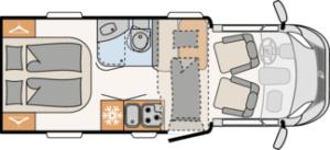 Dethleffs Trend T6557 DBM